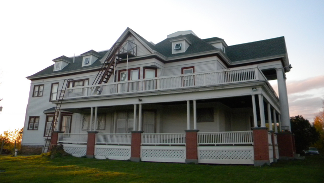 Side Profile of The House